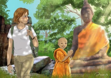 Marta y el monje